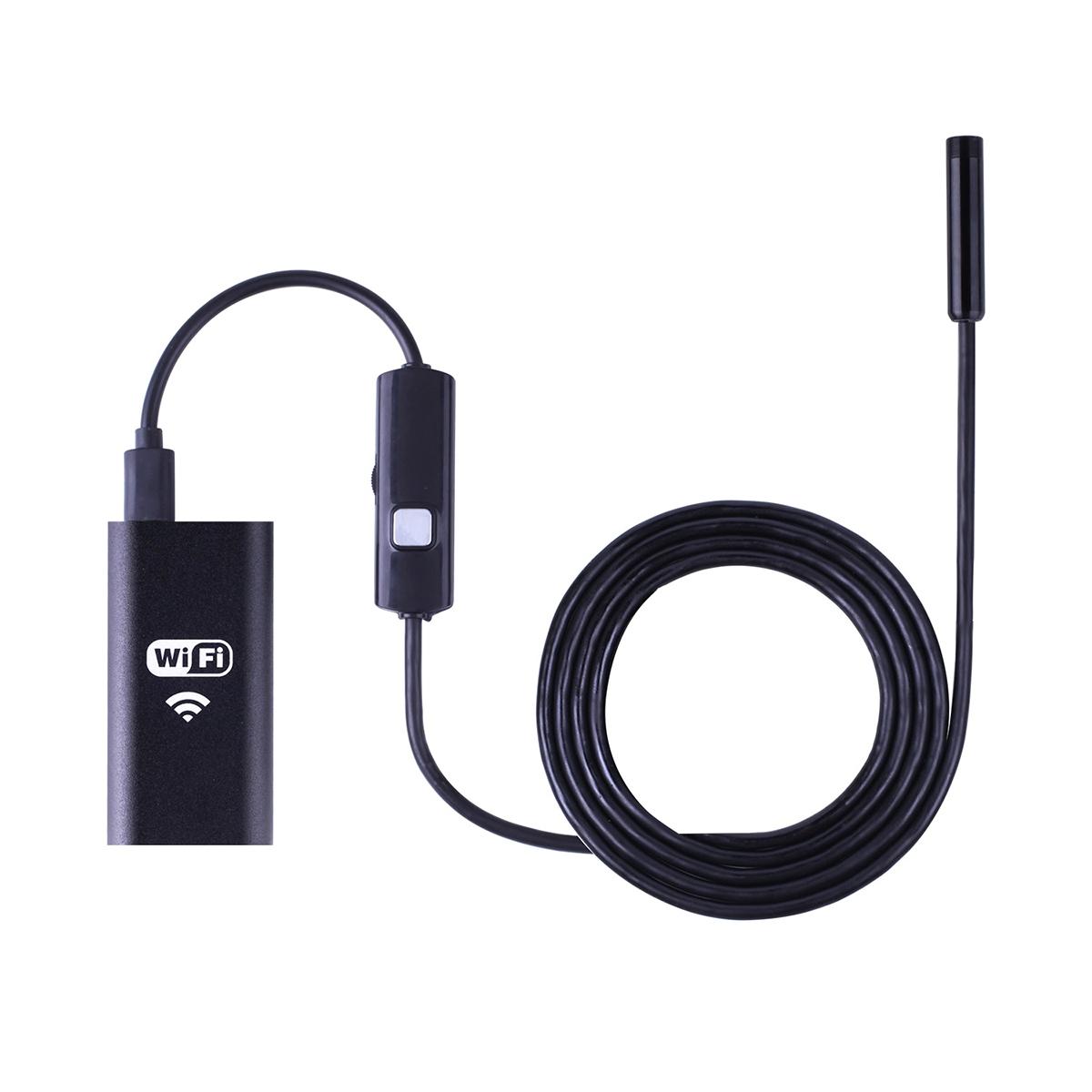 Видеоэндоскоп WIFI, 1Мп, 1280x720, 1м, 8 мм зонд iCartool IC-VY99