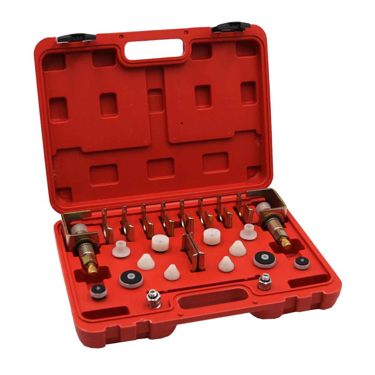 Комплект адаптеров для промывки контура кондиционера, универсальный Car-Tool CT-A0120