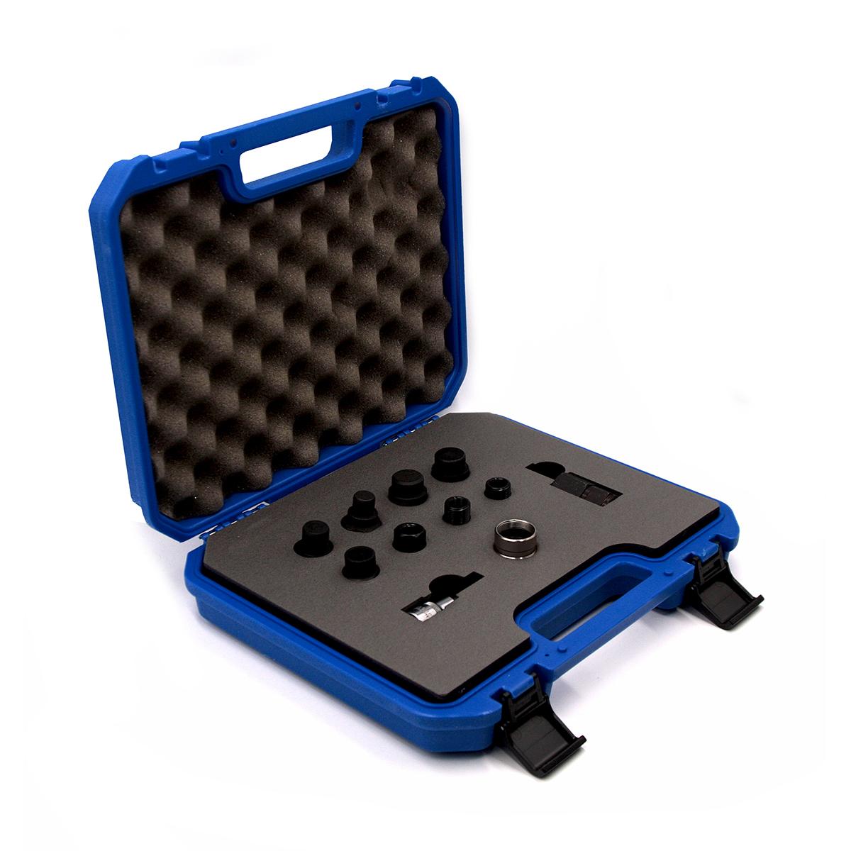 Комплект адаптеров дизельных форсунок для съемника форсунок. ОДА Сервис ODA-3204A