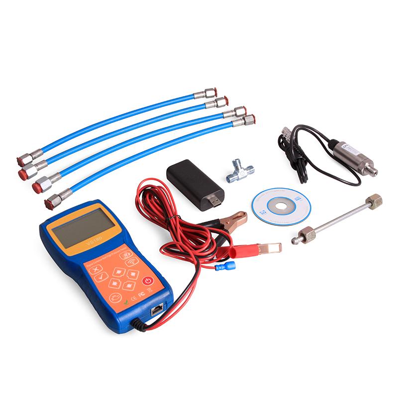 Комплект для диагностики линии высокого давления систем Common Rail Car-Tool CT-VS180