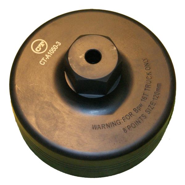 Головка для осей BPW 120 мм 8 гр. 16 тн. Car-Tool CT-A1050-3