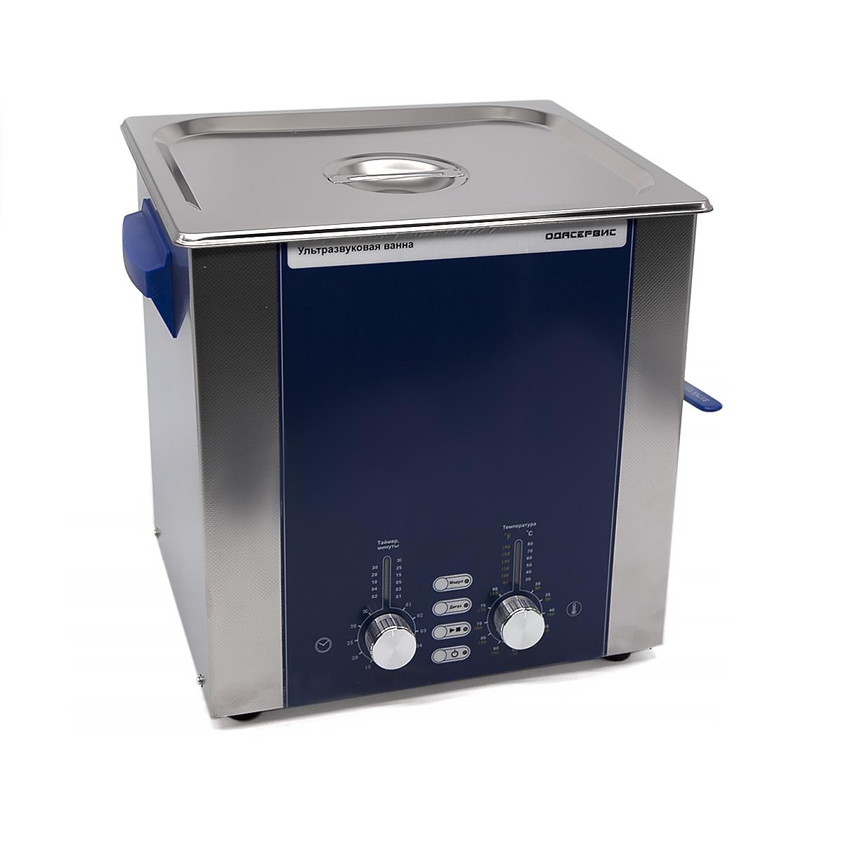 Ультразвуковая ванна с аналоговым управлением, подогревом, дегазацией и модуляцией 10 л ОД...
