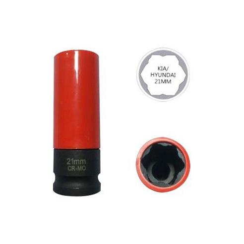 Головка ударная для колесных болтов (HYUNDAI/TUCSON) 21 мм Car-Tool CT-C1461