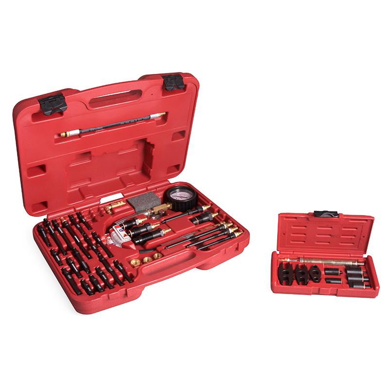 Компрессометр для бензиновых и дизельных двигателей Car-Tool CT-145i