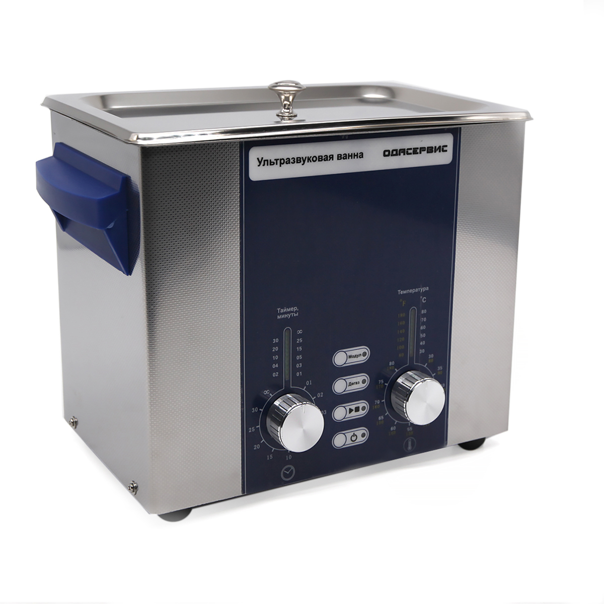 Ультразвуковая ванна с аналоговым управлением, подогревом, дегазацией и модуляцией 3 л ОДА...