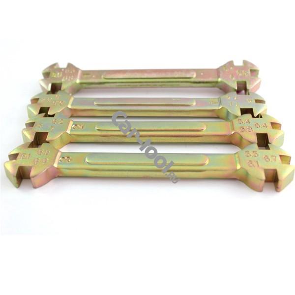 Комплект ключей для затягивания спиц Car-Tool CT-K401