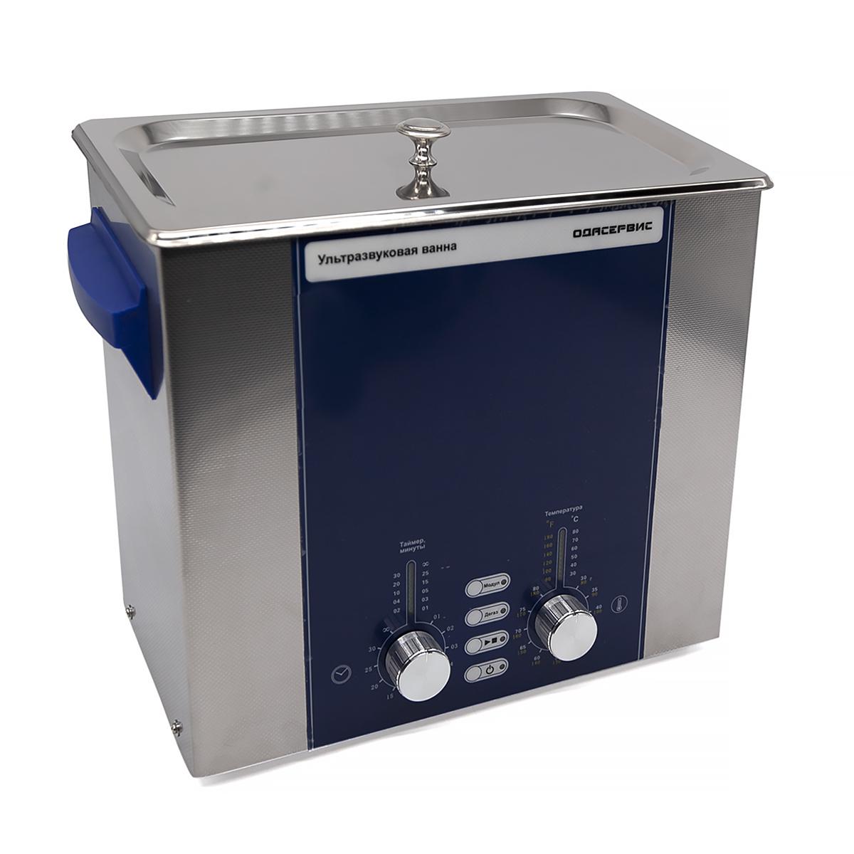 Ультразвуковая ванна с аналоговым управлением, подогревом, дегазацией и модуляцией 6 л ОДА...