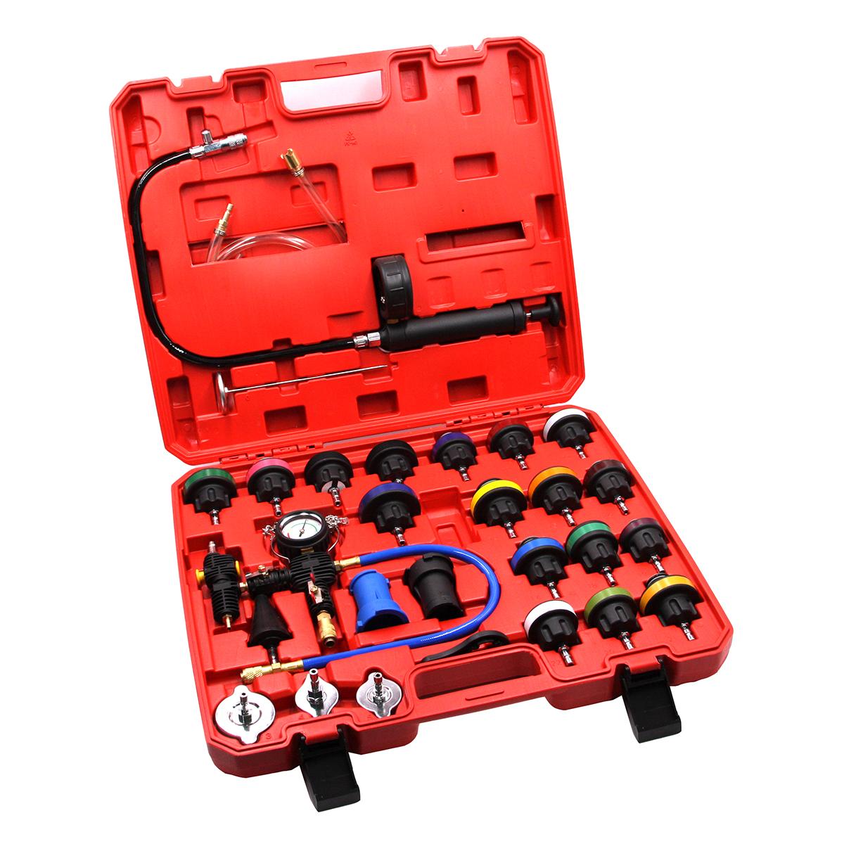 Набор для проверки герметичности системы охлаждения 28 предметов Car-Tool CT-N0133
