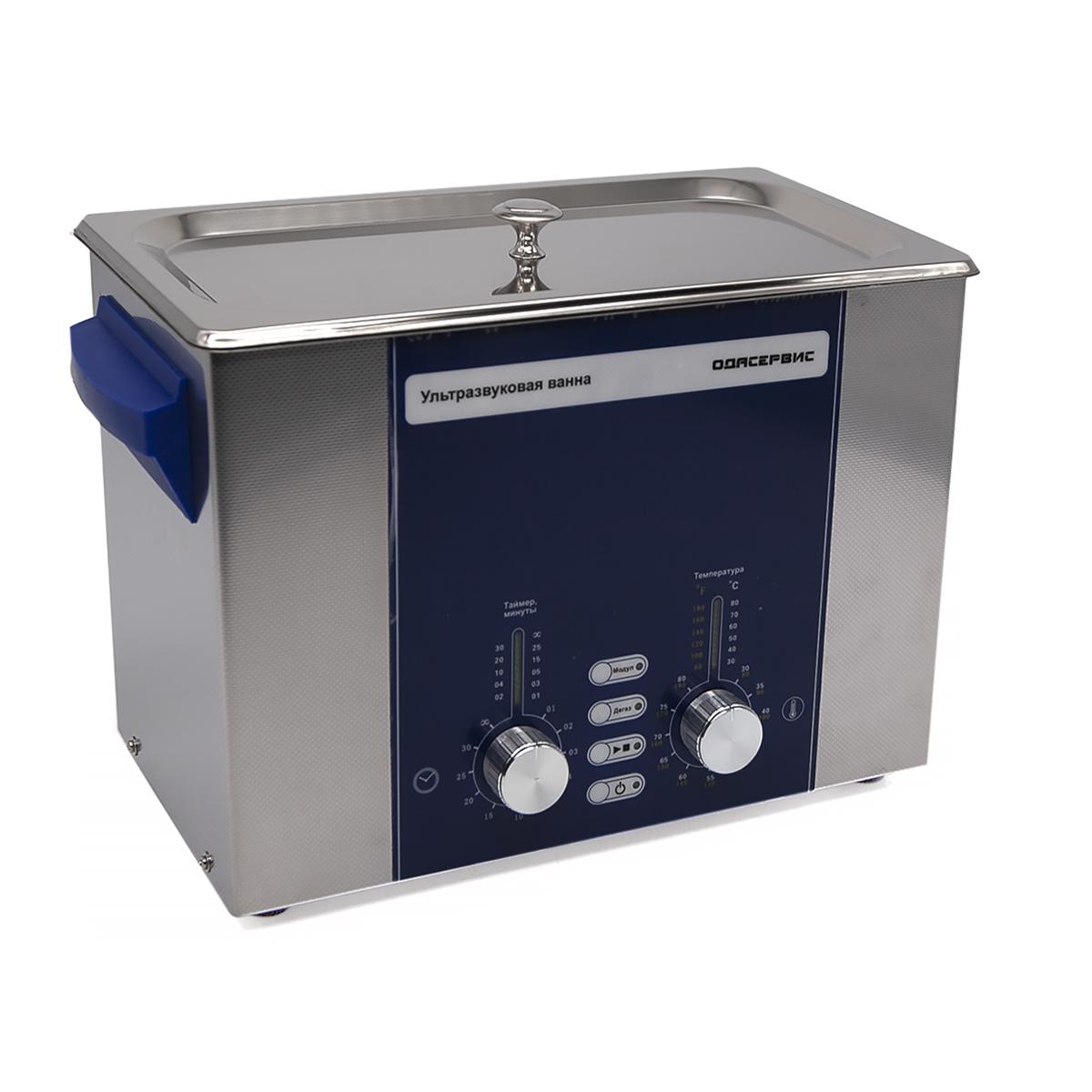 Ультразвуковая ванна с аналоговым управлением, подогревом, дегазацией и модуляцией 4 л ОДА...