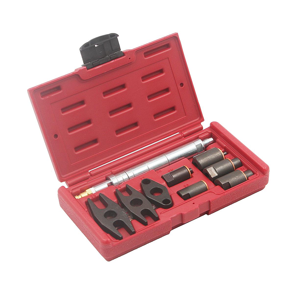 Набор форсуночных адаптеров для дизельных компрессометров универсальный Car-Tool CT-AT1318