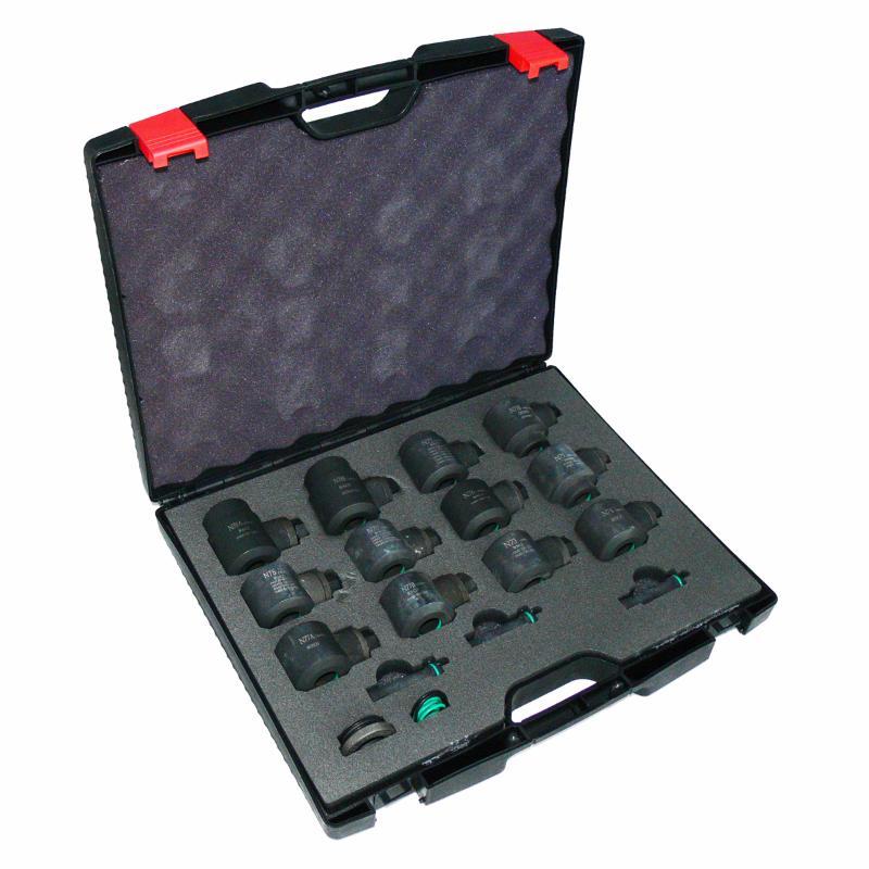 Набор адаптеров для грузовых форсунок Car-Tool CT-Z0804