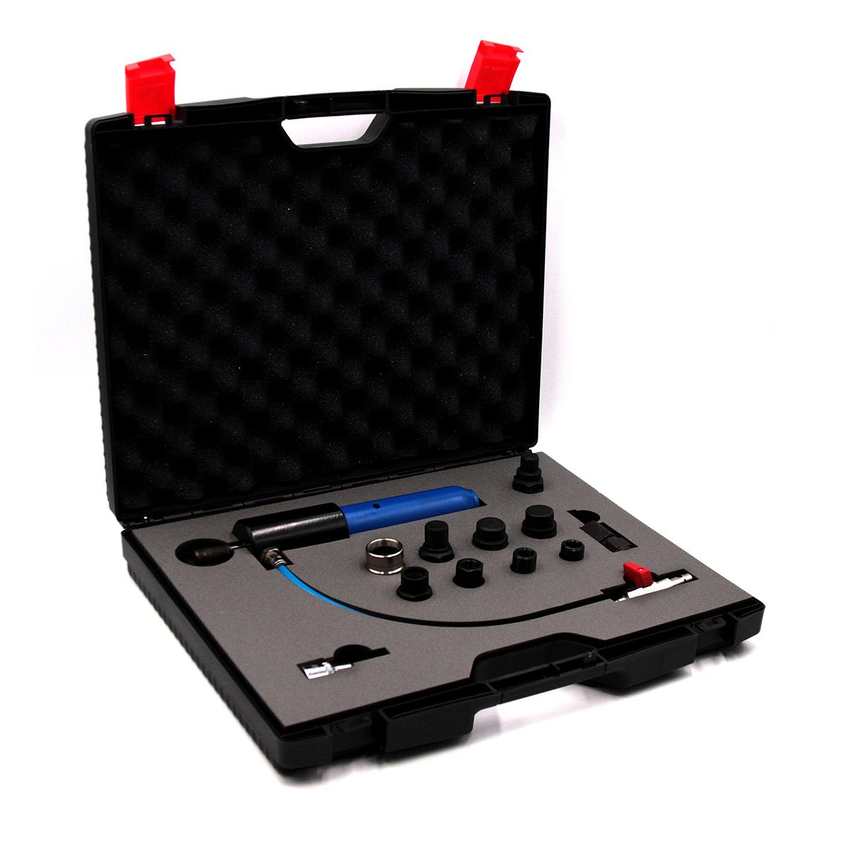 Съемник дизельных форсунок, пневматический с комплектом адаптеров ОДА Сервис ODA-3204B