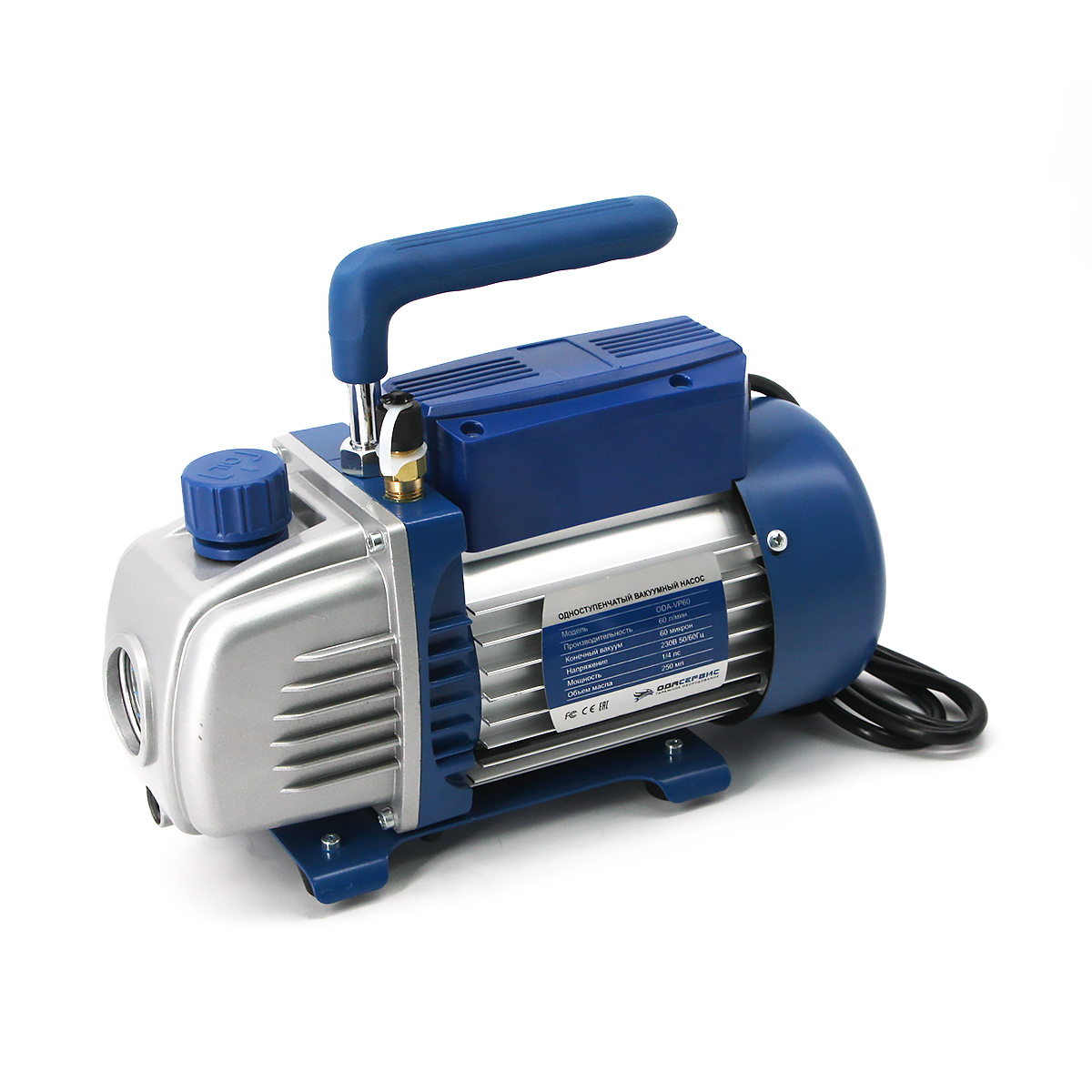 Одноступенчатый вакуумный насос 60 л/м ОДА Сервис ODA-VP60