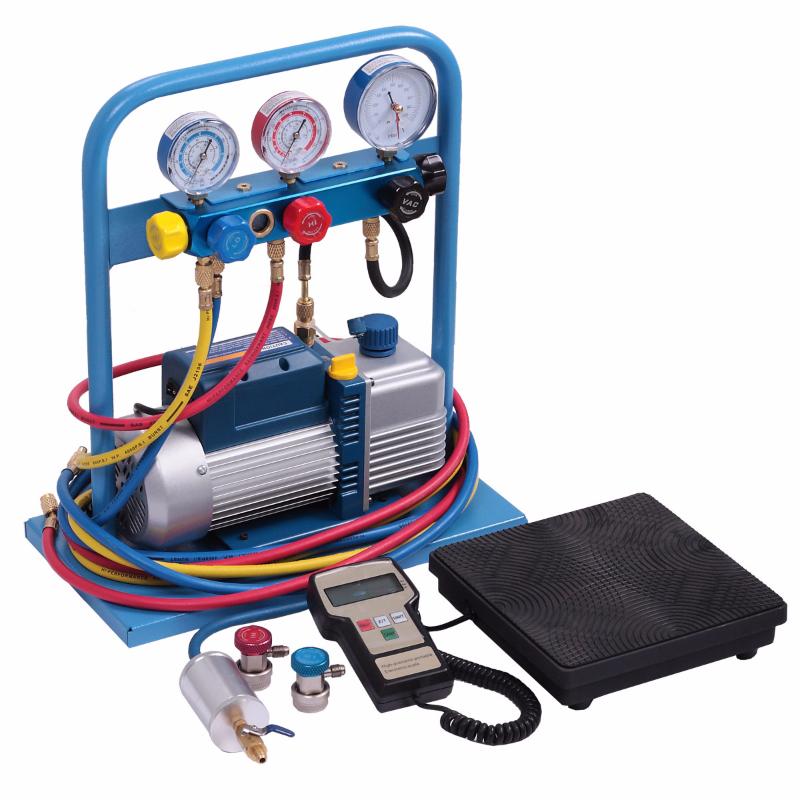 Комплект для заправки кондиционеров, standart ОДА Сервис AC-2025