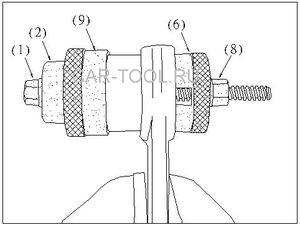 Замена резинометаллических шарниров наМерседесе W220