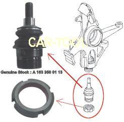 Специнструмент используется для ремонта ходовой автомобилей Мерседес.